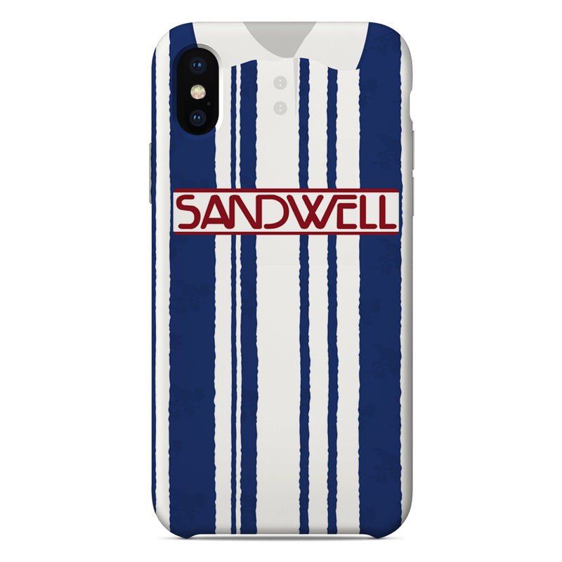 West Bromich Albion 1992/93 Home Shirt Phone Case