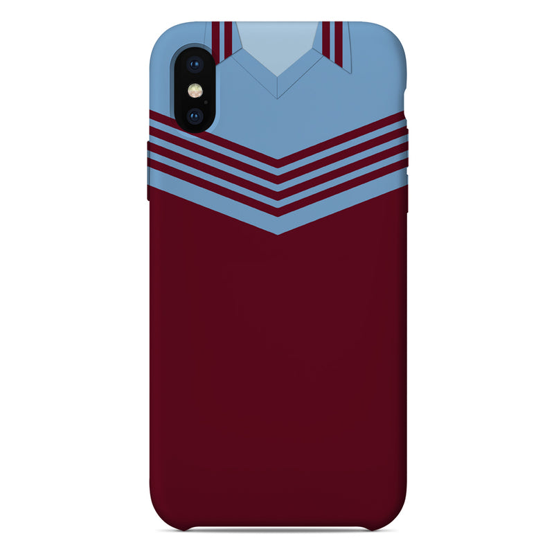West Ham 1976-80 Home Shirt Phone Case