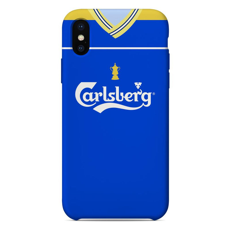 AFC Wimbledon 1988 FA Cup Home Shirt Phone Case