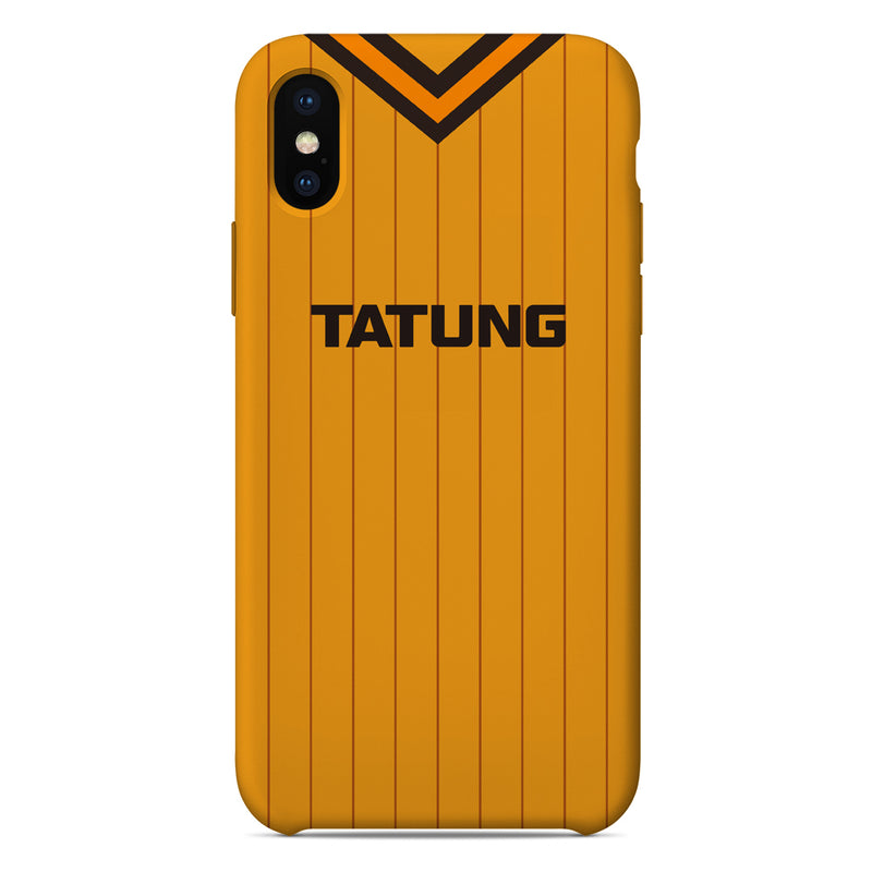 Wolverhampton Wanderers 1982-1985 Home Shirt Phone Case