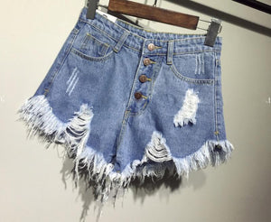 MARIA DENIM SHORTS