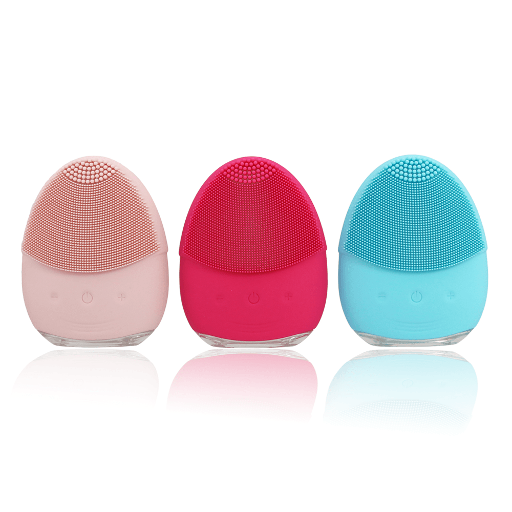 Pink & Pink Electric cleansing brush