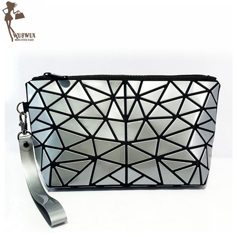 Geometric Metalic Bag