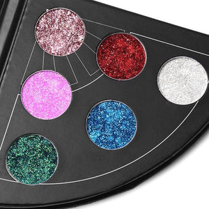 Diamond Glitter Eye Shadow Palette