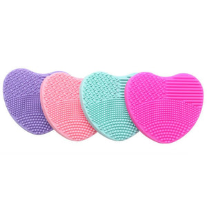 Heart's Silicone Brush Cleaner