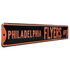 Philadelphia Flyers Steel Street Sign-PHILADELPHIA FLYERS AVE
