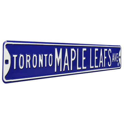 Toronto Maple Leafs Steel Street Sign-TORONTO MAPLE LEAFS AVE