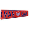Montreal Canadiens Steel Street Sign with Logo-MAN CAVE