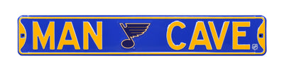 NHL St. Louis Blues Man Cave Metal Sign