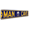 Buffalo Sabres Steel Street Sign with Logo-MAN CAVE