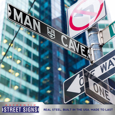 Los Angeles Kings Steel Street Sign with Logo-MAN CAVE