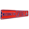 Washington Capitals Steel Street Sign with Logo-2018 SC Champions