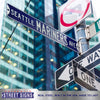 Seattle Mariners Steel Street Sign-SEATTLE MARINERS AVE