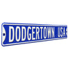 Los Angeles Dodgers Steel Street Sign-DODGERTOWN USA