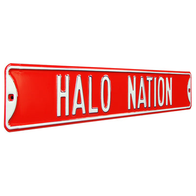 Los Angeles Angels Steel Street Sign-HALO NATION