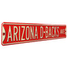 Arizona Diamondbacks Steel Street Sign-ARIZONA D-BACKS AVE