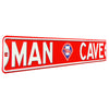 Philadelphia Phillies Steel Street Sign with Logo-MAN CAVE