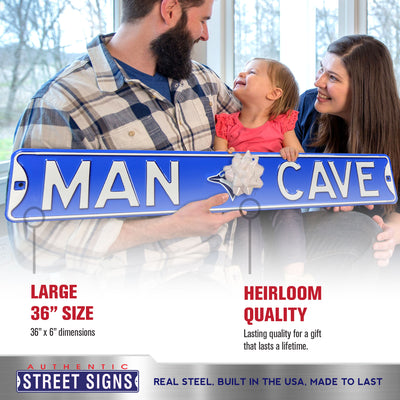 Toronto Blue Jays Steel Street Sign with Logo-MAN CAVE