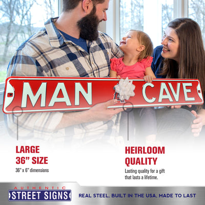Los Angeles Angels Steel Street Sign with Logo-MAN CAVE