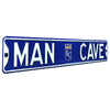 Kansas City Royals Steel Street Sign with Logo-MAN CAVE