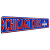 Chicago Cubs Steel Street Sign with Logo-CHICAGO CUBS WS 2016 Champions