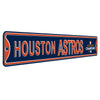 Houston Astros Steel Street Sign with Logo-WS 2017 Champions