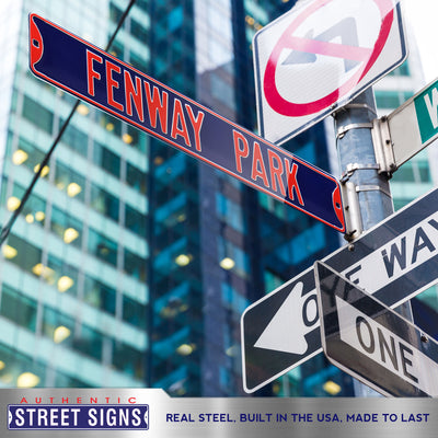 Boston Red Sox Steel Street Sign-FENWAY PARK