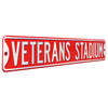 Philadelphia Phillies Steel Street Sign-VETERANS STADIUM
