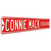 Philadelphia Phillies Steel Street Sign-CONNIE MACK STADIUM