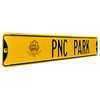 Pittsburgh Pirates Steel Street Sign with Logo-PNC PARK w/ Logo