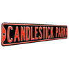 San Francisco Giants Steel Street Sign-CANDLESTICK PARK