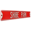 Philadelphia Phillies Steel Street Sign-SHIBE PARK