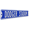 Los Angeles Dodgers Steel Street Sign-DODGER STADIUM