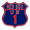 MLB Boston Red Sox Metal Route Sign- US-1