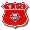 Philadelphia Phillies Steel Route Sign-Primary Logo