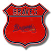 MLB Atlanta Braves Metal Route Sign