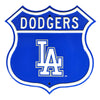 MLB Los Angeles Dodgers Metal Route Sign