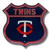 Minnesota Twins Steel Route Sign-TC Logo