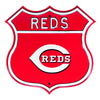 MLB Cincinnati Reds Metal Route Sign