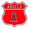 MLB Los Angeles Angels Metal Route Sign