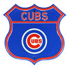 Chicago Cubs Steel Route Sign-Primary Logo