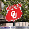 Oklahoma Sooners  Steel Route Sign Logo