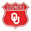 NCAA Oklahoma Sooners Metal Route Sign