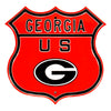 Georgia Bulldogs  Steel Route Sign Logo