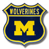 NCAA Michigan Wolverines Metal Route Sign