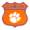 NCAA Clemson Tigers Metal Route Sign