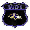 NFL Baltimore Ravens Metal Route Sign
