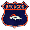 Denver Broncos Steel Route Sign