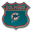 NFL Miami Dolphins Metal Route Sign