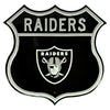 NFL Oakland Raiders Metal Route Sign